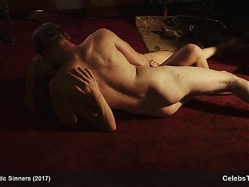 Maggie Alexander exposing naked body and porn tape