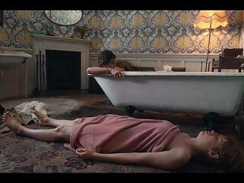 Lily James and Emily Beecham in sexy scenes