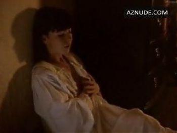 Saskia Reeves has sex from behind