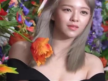 Heres Jeongyeon Showing Off Some Cleavage