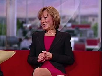 Sian Williams, Sexy Crossing Legs